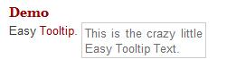 Easy CSS Tooltip, mais fácil impossivel.
